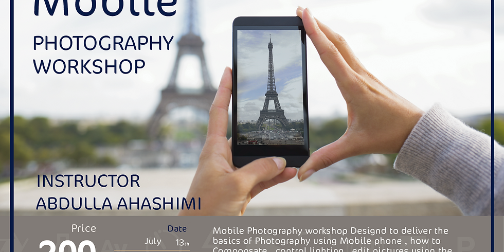 Mobile Photography Workshop - English