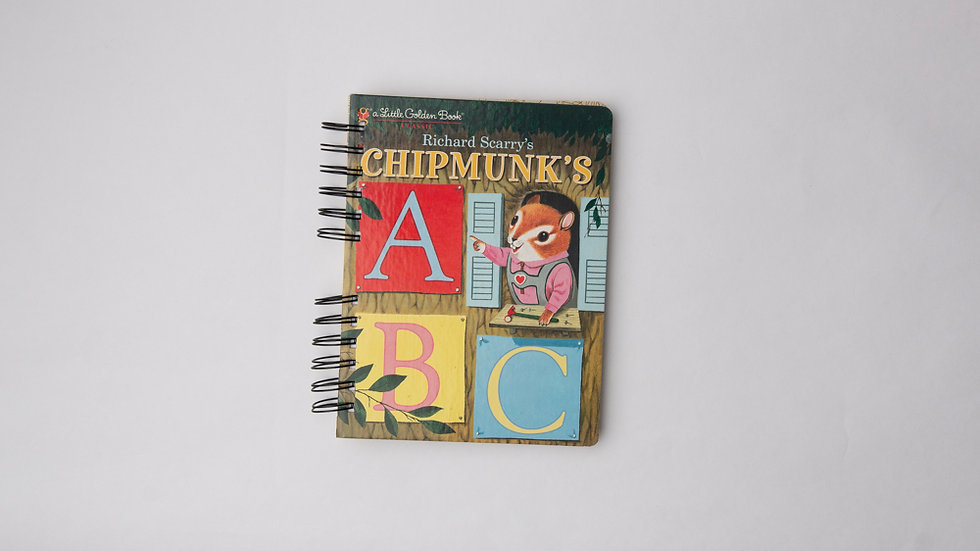 Chipmunk's ABC - LGB NOTEBOOK (LINED)