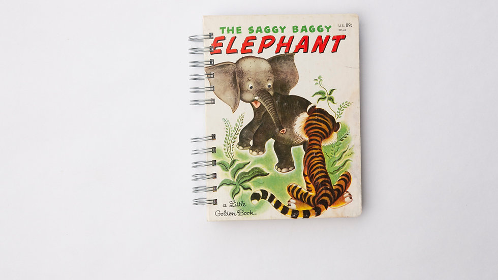 The Saggy Baggy Elephant - LGB Notebook Blank