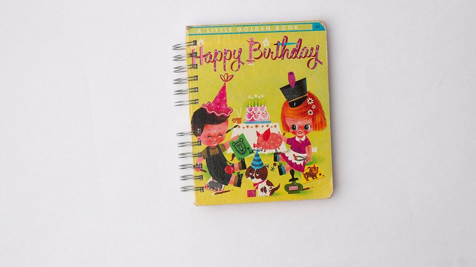 Happy Birthday - LGB Notebook Blank
