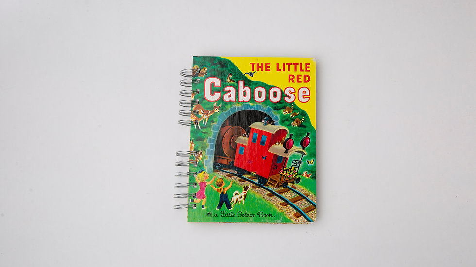 The Little Red Caboose - LGB Notebook Blank