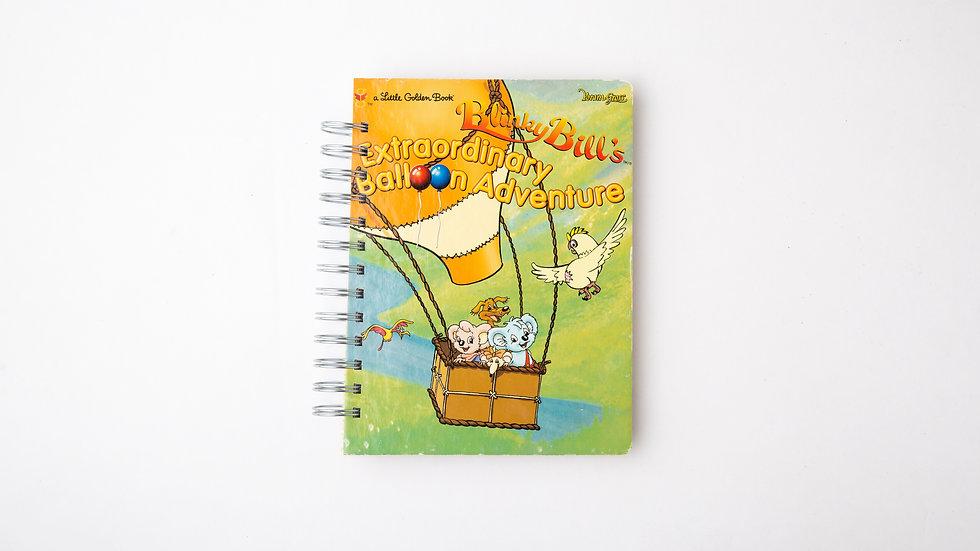 Blinky Bill's Extraordinary Balloon Adventure - LGB Notebook Blank