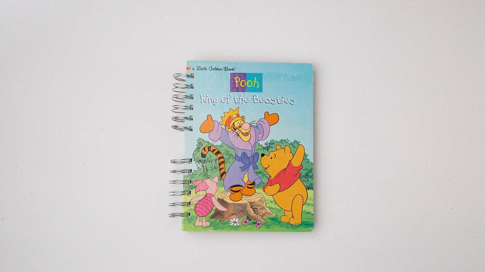 Pooh King of the Besties - LGB Notebook Blank
