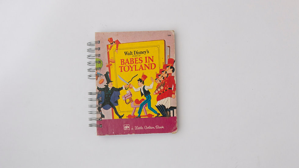 Babes In Toyland - LGB Notebook Blank