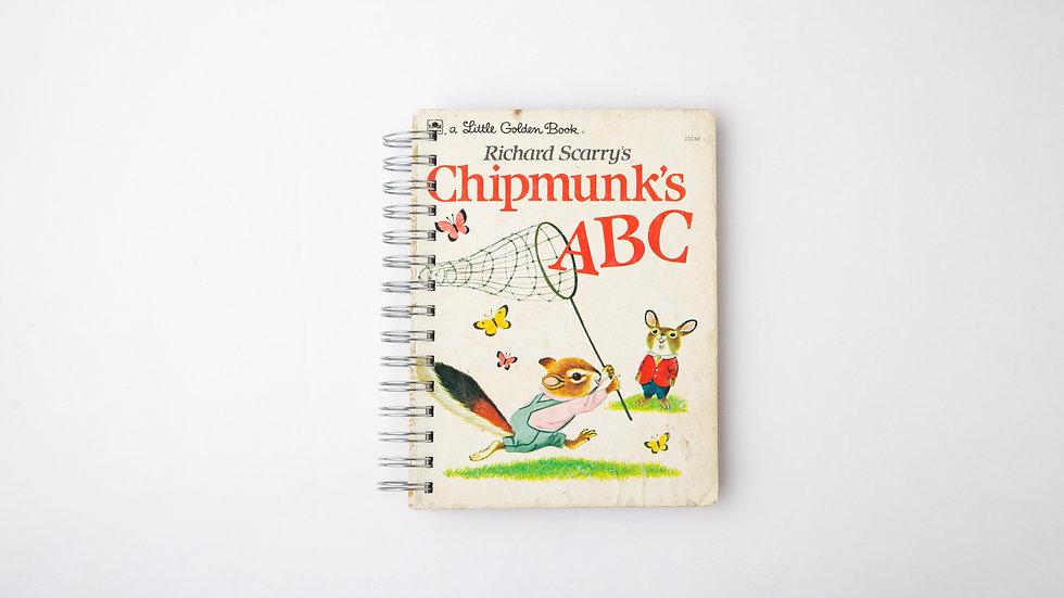 Richard Scarry's Chipmunk's ABC - LGB Notebook Blank