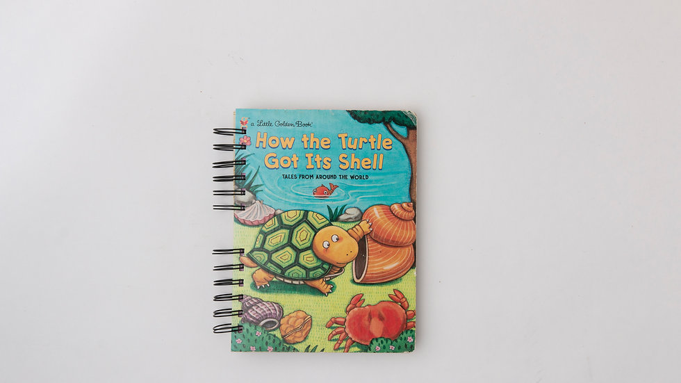 How the Turtle Got Its Shell - LGB NOTEBOOK (LINED)