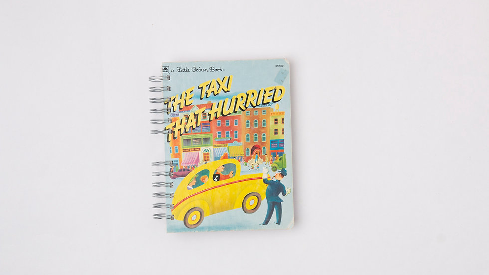 THE TAXI THAT HURRIED - LGB NOTEBOOK