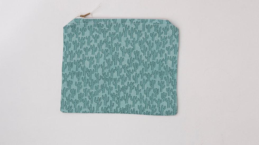 Fabric Pouch - Cactus (L)