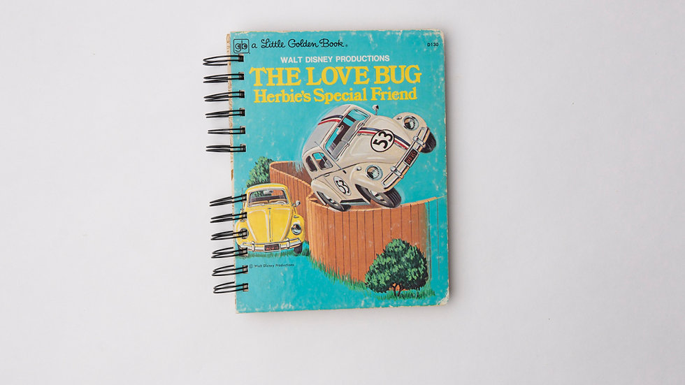 The Love Bug Herbie's Special Friend - LGB NOTEBOOK (LINED)