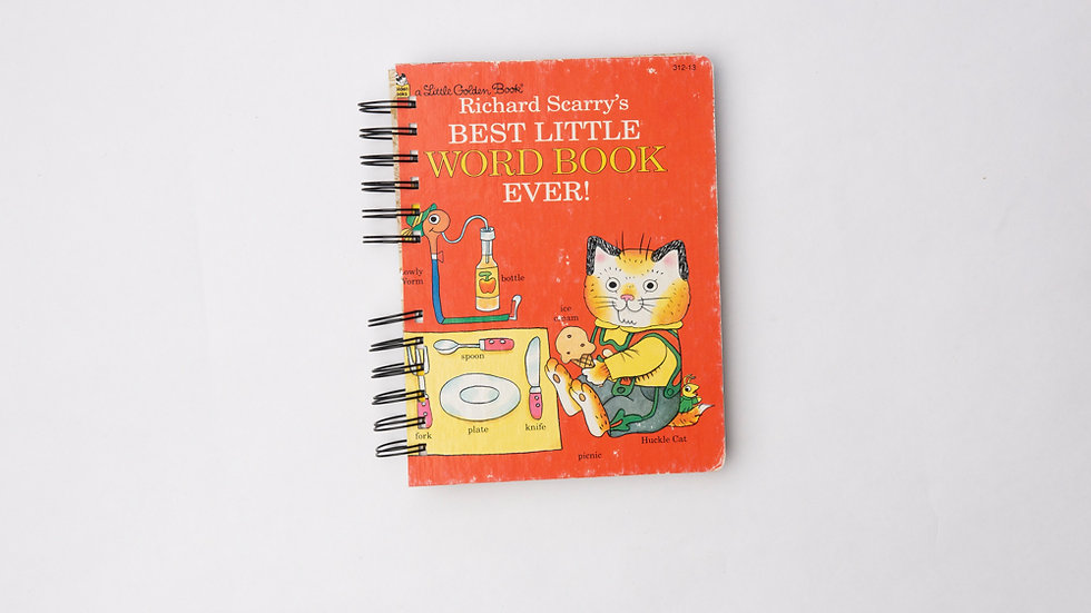 Richard Scarry's Best Little Word Book Ever!  - LGB NOTEBOOK (LINED)