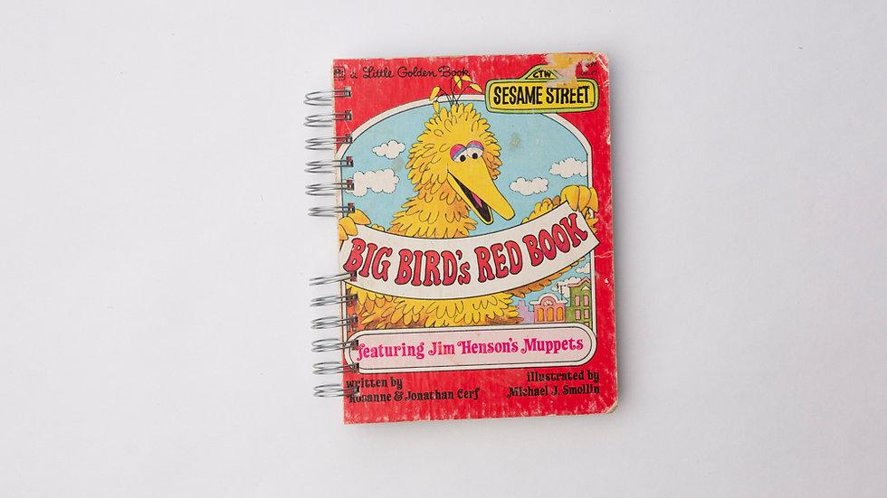 Big Bird's Red Book  - LGB Notebook Blank