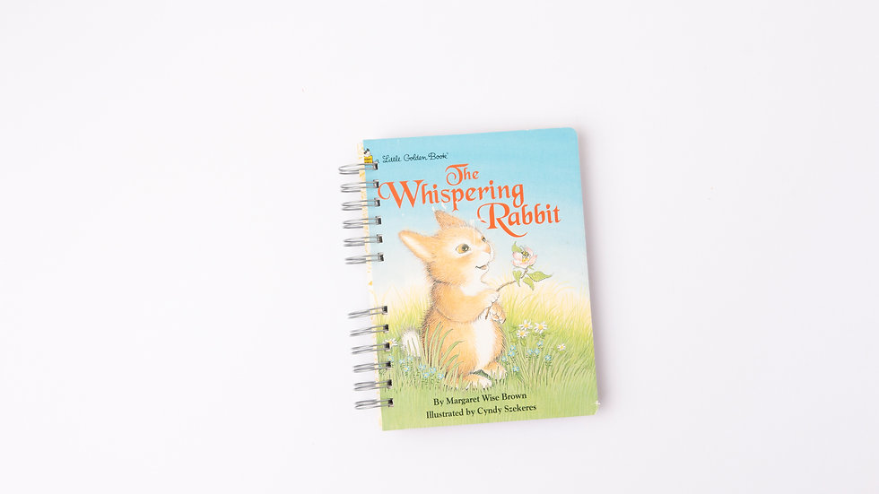 THE WHISPERING RABBIT - LGB NOTEBOOK