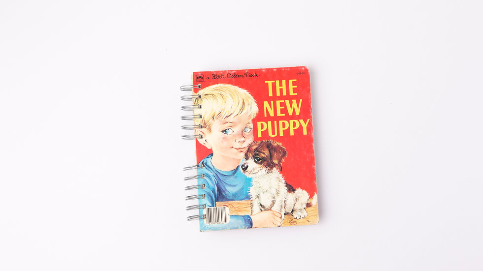 THE NEW PUPPY - LGB NOTEBOOK