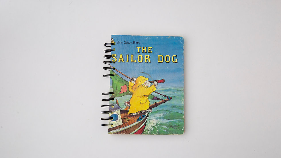 The Sailor Dog - LGB NOTEBOOK (LINED)