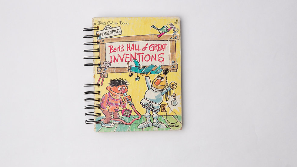 Bert's Hall Of Great Inventions - LGB NOTEBOOK (LINED)