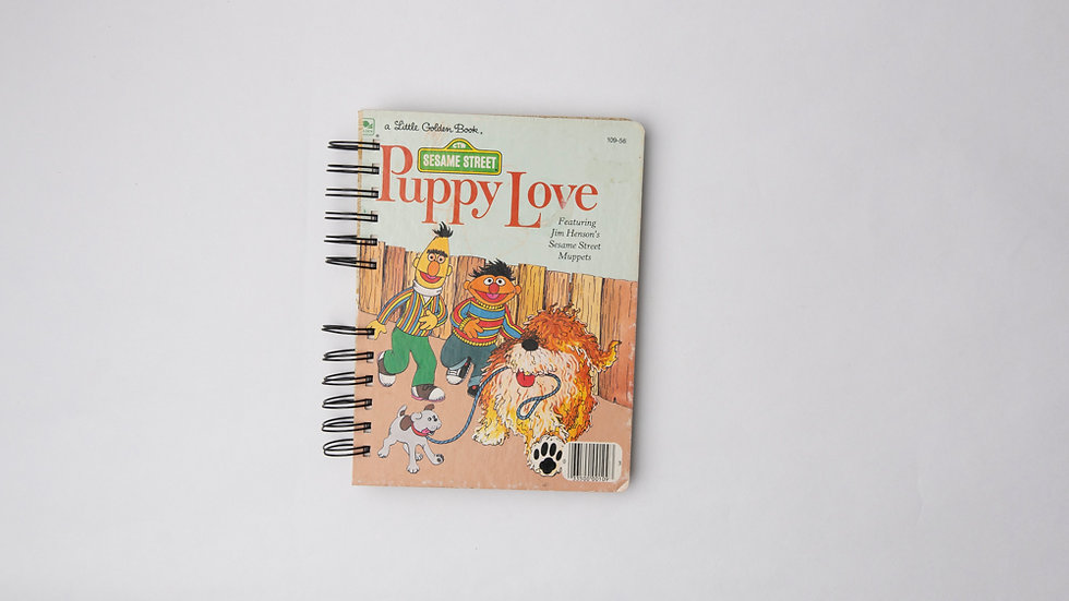 Puppy Love - LGB NOTEBOOK (LINED)