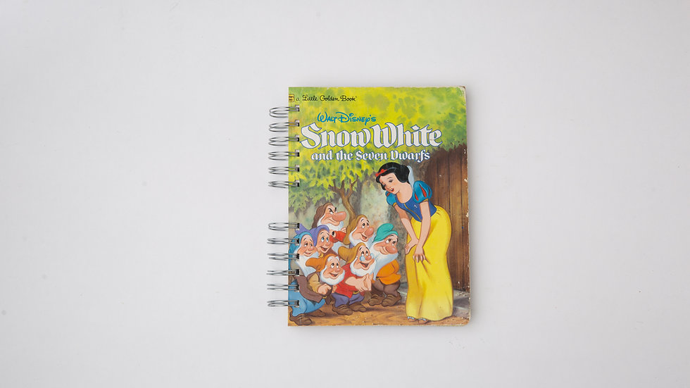 Snow White and the Seven Dwarfs  - LGB Notebook Blank