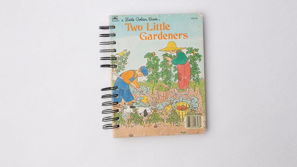 Two Little Gardeners - LGB NOTEBOOK (LINED)
