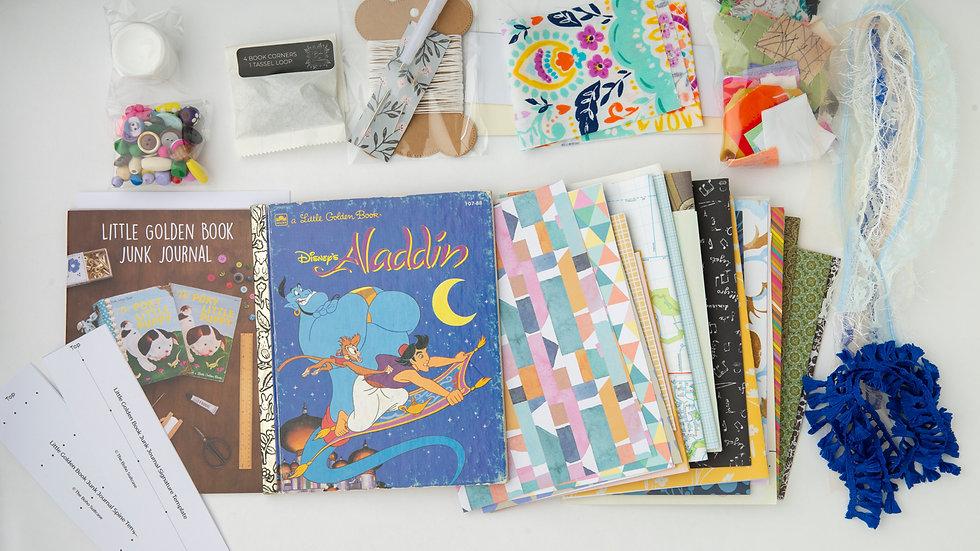 ALADDIN - LITTLE GOLDEN BOOK JUNK JOURNAL KIT