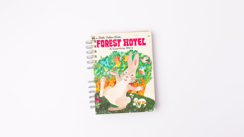 FOREST HOTEL - LGB NOTEBOOK