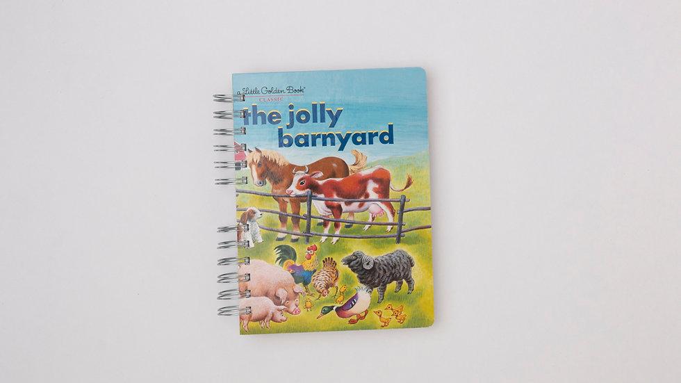The Jolly Barnyard - LGB NOTEBOOK