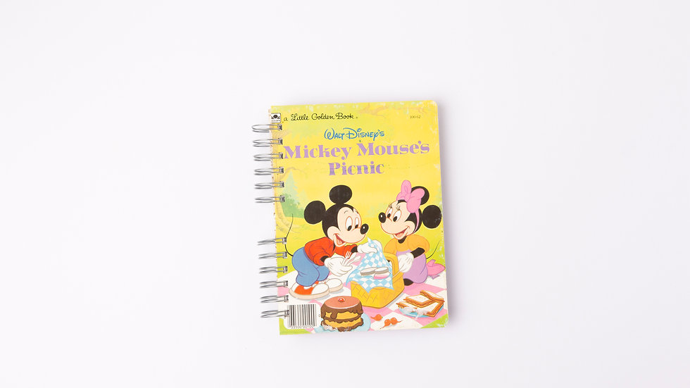 MICKEY MOUSE'S PICNIC - LGB NOTEBOOK