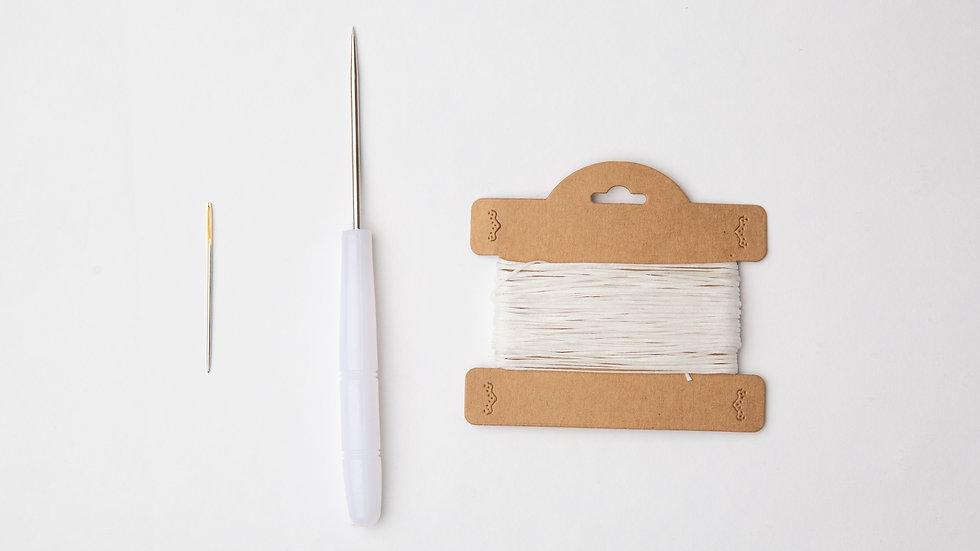 Needle, Awl & Wax thread