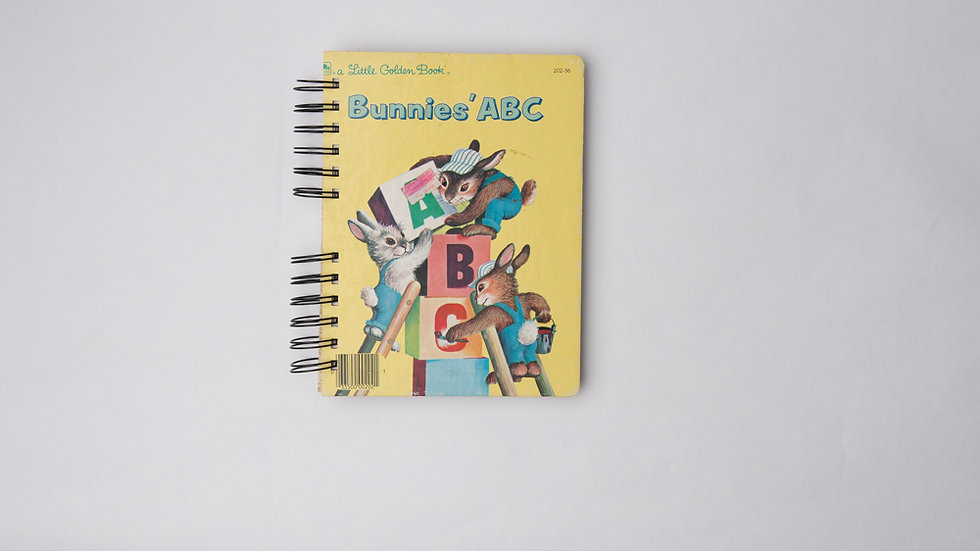 Bunnies' ABC - LGB NOTEBOOK (LINED)