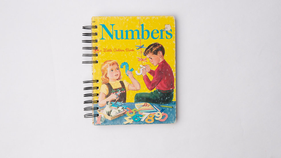 Numbers - LGB NOTEBOOK (LINED)