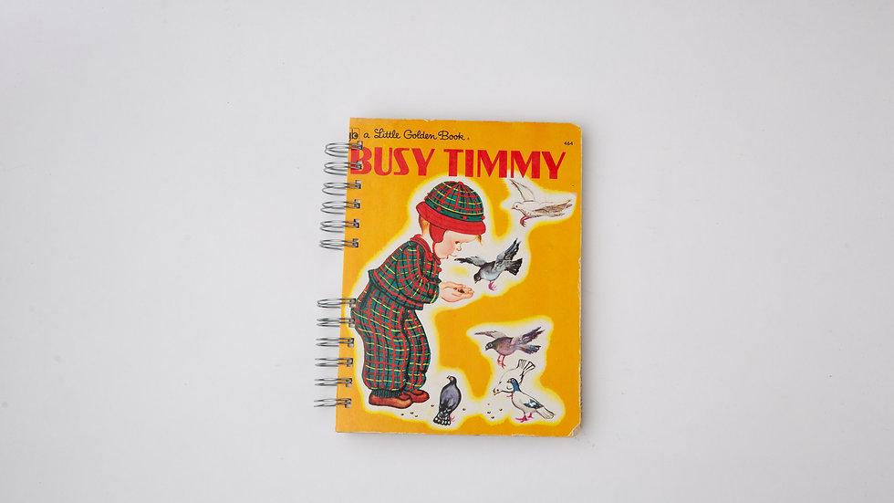 Busy Timmy - LGB Notebook Blank