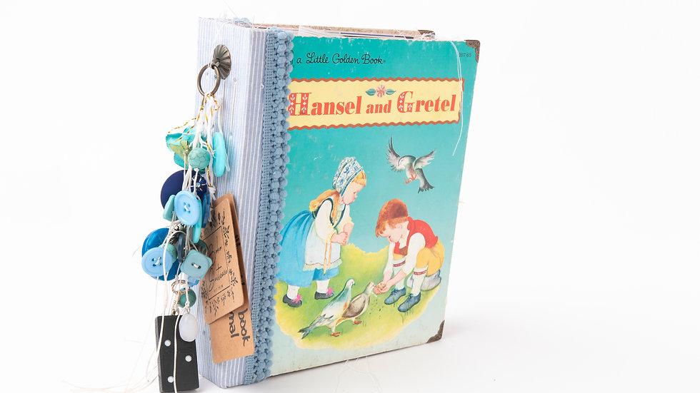 Hansel and Gretel -  Little Golden Book Junk Journal {LARGE
