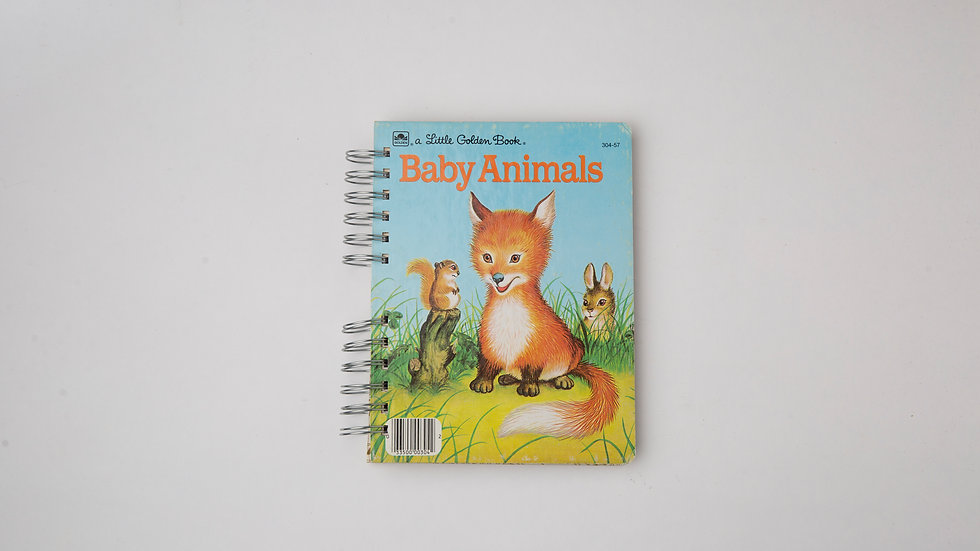 Baby Animals - LGB Notebook Blank