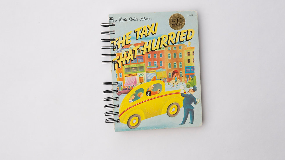 The Taxi That Hurried - LGB NOTEBOOK (LINED)