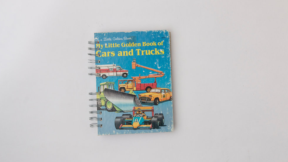 The Little Golden Book of Cars and Trucks   - LGB Notebook Blank