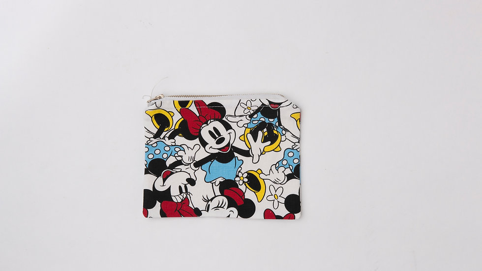 Fabric Pouch - Minnie (M)