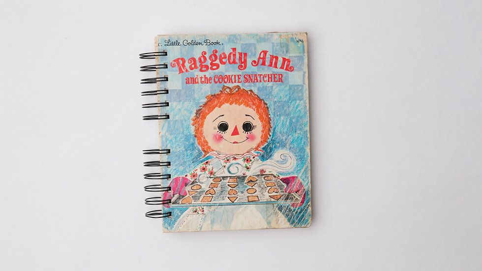 Raggedy Ann and the Cookie Snatcher - LGB NOTEBOOK (LINED)