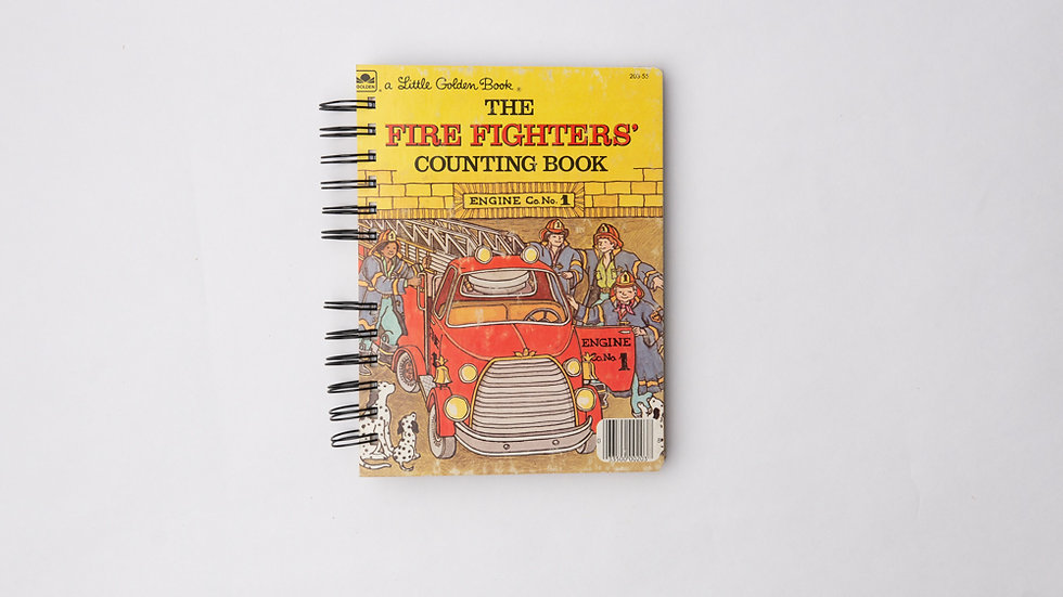 The Fire Fighters Counting Book - LGB NOTEBOOK (LINED)