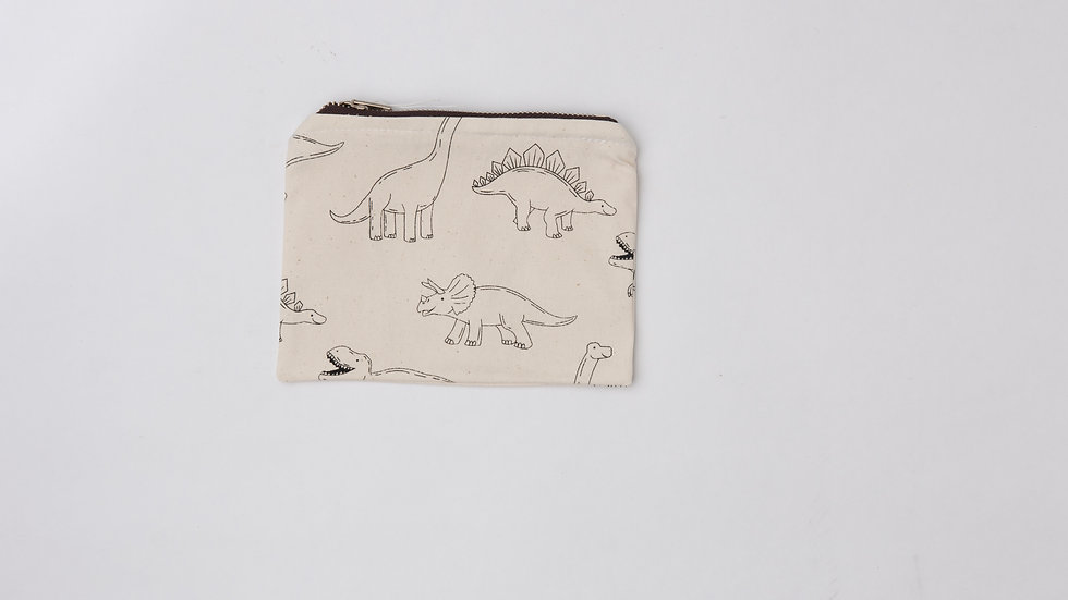 Fabric Pouch - Dino (M)