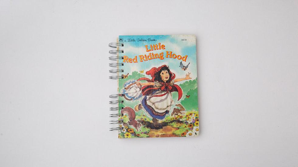 Little Red Riding Hood  - LGB Notebook Blank