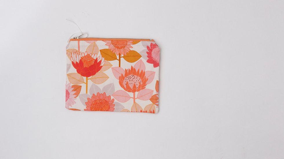 Fabric Pouch - Protea (M)