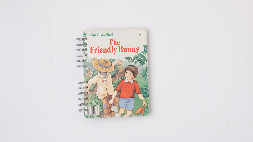 THE FRIENDLY BUNNY - LGB NOTEBOOK