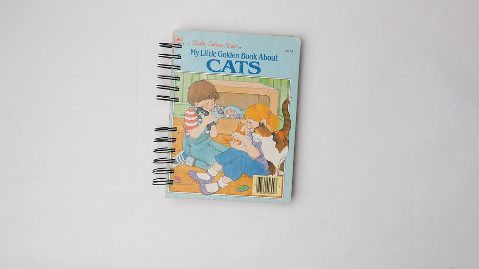 My Little Golden Book about Cats - LGB NOTEBOOK (LINED)