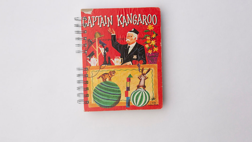 Captain Kangaroo  - LGB Notebook Blank