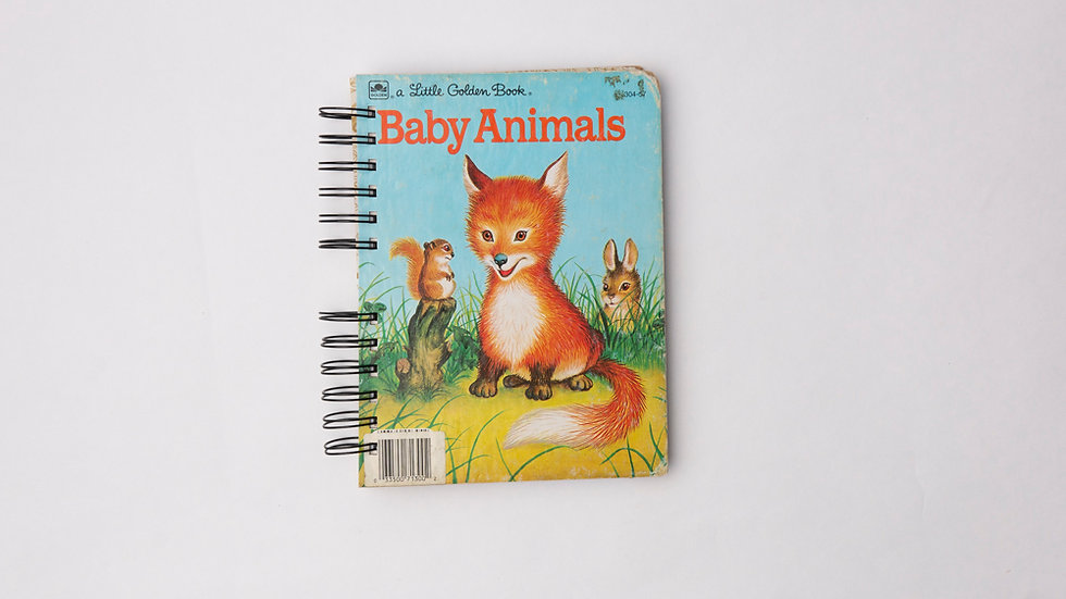 Baby Animals - LGB NOTEBOOK (LINED)