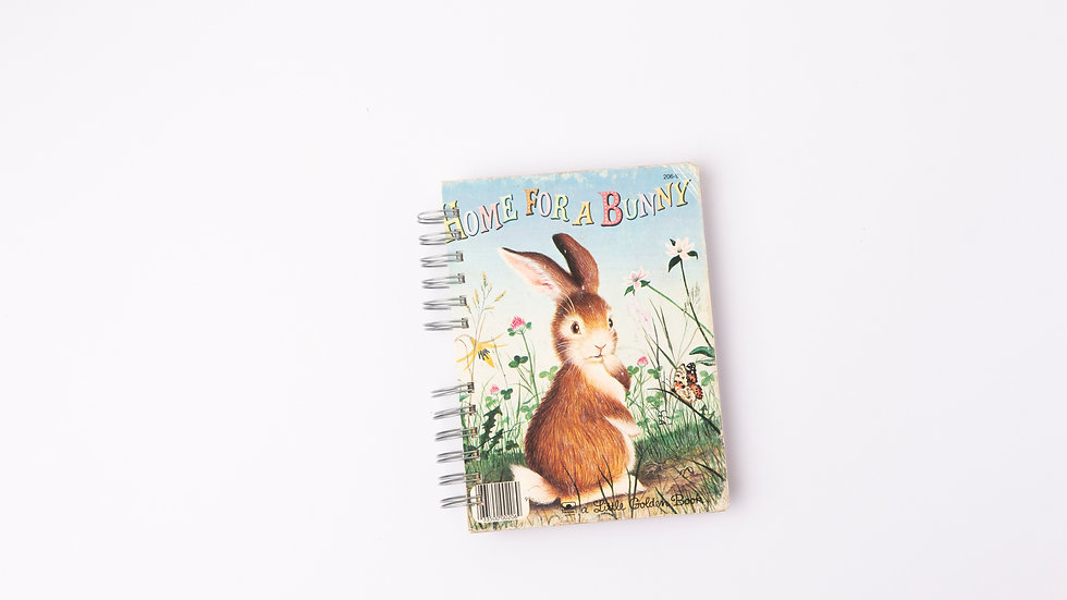 HOME FOR A BUNNY - LGB NOTEBOOK