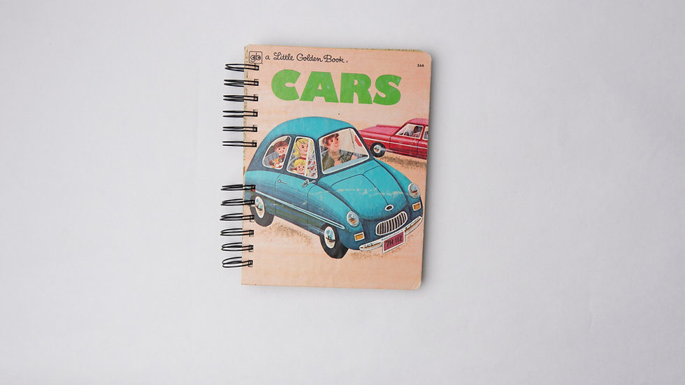 Cars - LGB NOTEBOOK (LINED)
