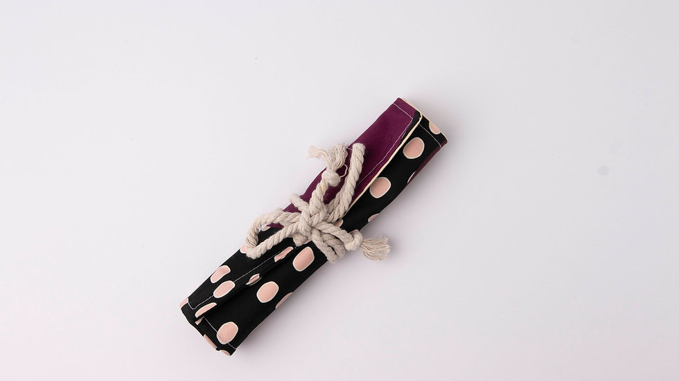 Pencil Roll - abstract purple
