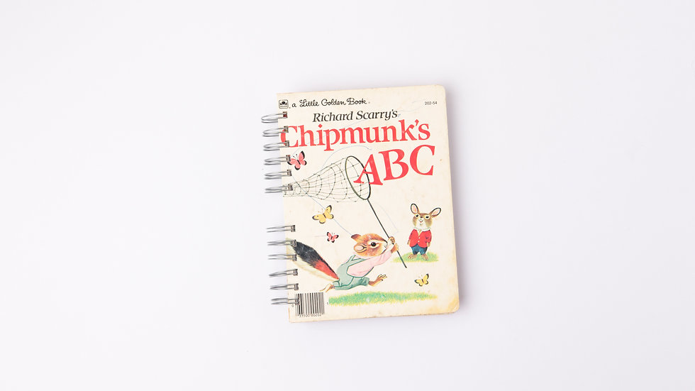 CHIPMUNK'S ABC - LGB NOTEBOOK