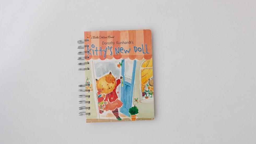 Kitty's New Doll - LGB Notebook Blank