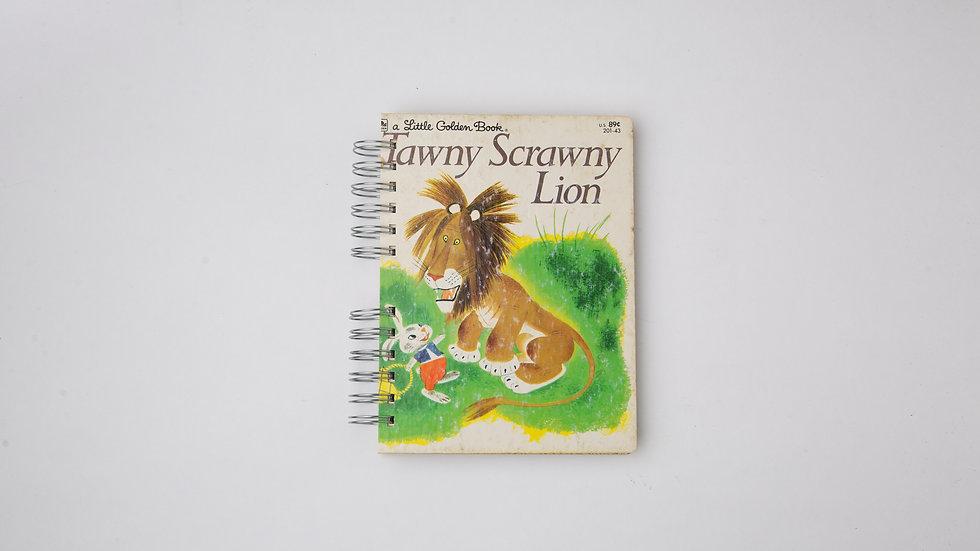 Tawny Scrawny Lion - LGB Notebook Blank